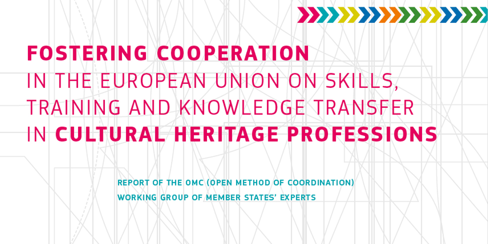 Fostering Cooperation in Cultural Heritage Professions